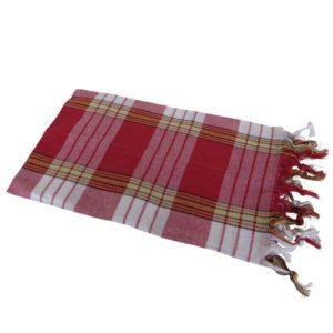 Hamamdoek rood