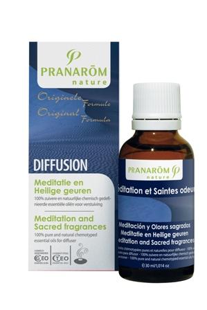 Meditatie en heilige geuren