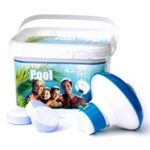 AquaFinesse Pool water care bucket 30 tabs