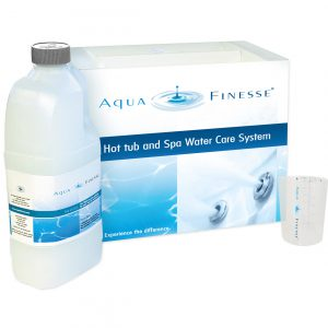 AquaFinesse hot tub water care box