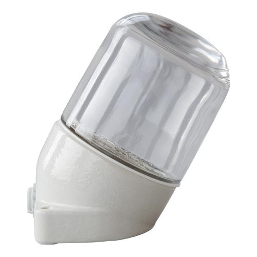 Keramiek lamp schuin helder