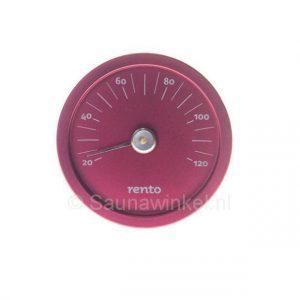 Design thermometer sauna cranberry