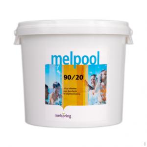Melpool chloortabletten 90-20 5 kg