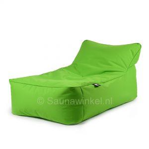 Bed lounger lime met bijpassend kussen